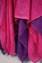 Tuulenlento -hame, pinkki-violetti
